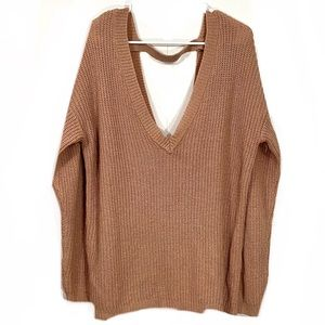 Forever 21 Plus Size Chunky Knit V-Cut Sweater
